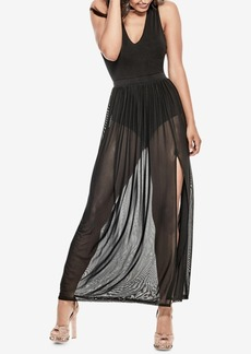 Guess Rosalina Mesh Choker Dress
