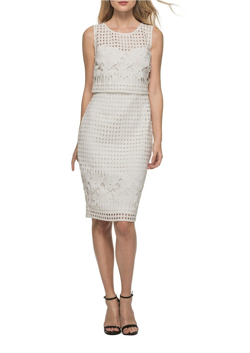 558fde69008 On Sale today! GUESS GUESS Roundneck Cutout Popover Dress