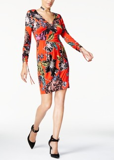 Guess Ruched Crosby Printed Dress