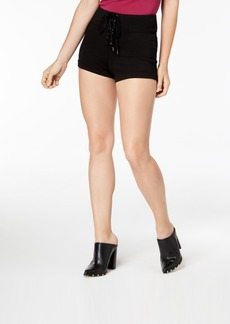 Guess Sapphire Lace-Up Shorts