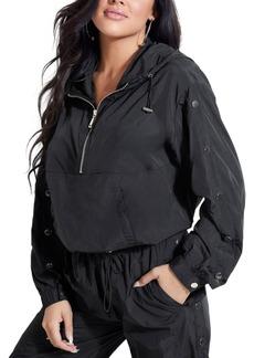 Guess Sasha Hooded Pullover Track Jacket