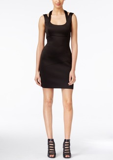 Guess Scuba Cutout Bodycon Dress