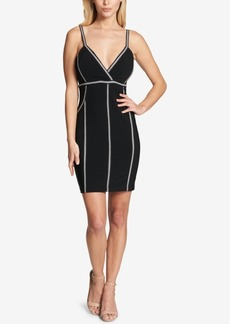 Guess Seamed Bandage Bodycon Dress