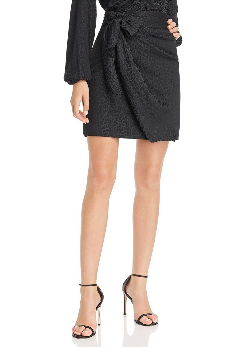 GUESS Seeley Faux Wrap Skirt