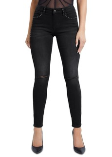 Guess Selah Studded Curve Skinny Jeans