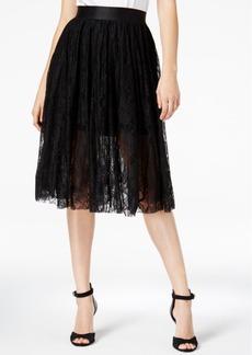 Guess Selena Lace Midi Skirt