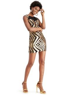 Guess Sequin Mesh Dress
