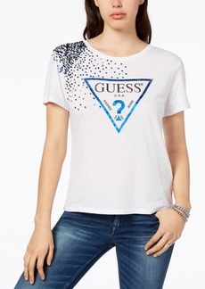 Guess Sequined Logo T-Shirt