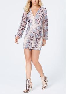 Guess Serasota Printed Surplice Dress