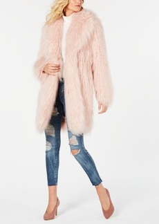 Guess Serenity Faux-Fur Teddy Coat
