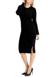 Guess Shae Buttoned Sweater Dress