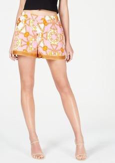 Guess Shakira Printed Pull-On Shorts