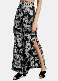Guess Shay Vented Wide-Leg Pants
