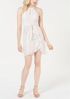 Guess Shenna Ruffled Eyelet Dress