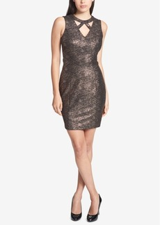 Guess Sleeveless Cutout Sheath Dress