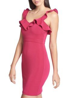 Guess Sleeveless Ruffled Dress