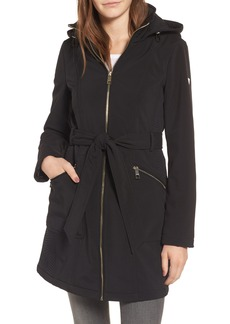 GUESS Soft Shell Trench Coat