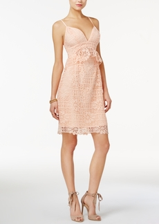 Guess Solstice Lace Bodycon Dress