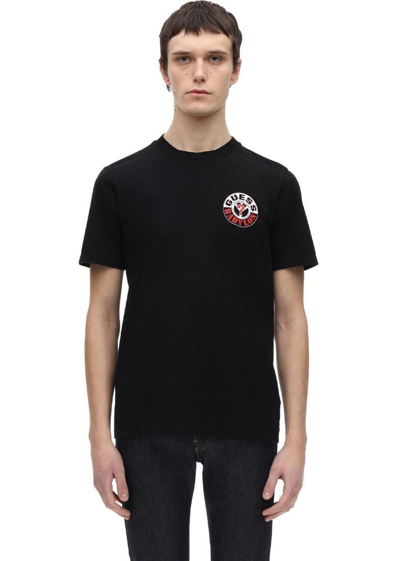 Guess Sport X Babylon Logo T-shirt