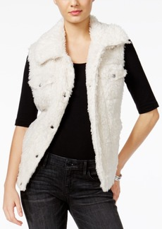 Guess Stephanie Faux-Fur Vest