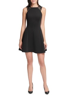 Guess Strappy A-Line Mini Dress