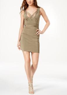 Guess Strappy Crisscross Bandage Dress