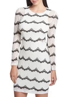 Guess Stripe Bodycon Dress