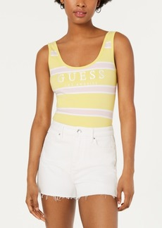 Guess Originals Striped Graphic Bodysuit