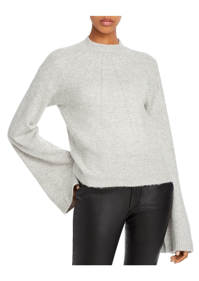 GUESS Studded Bell-Sleeve Sweater