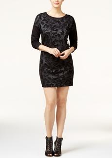 Guess Sumie Crochet-Lace Shift Dress