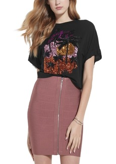 Guess Sunny Cotton Sequined T-Shirt