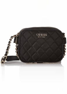 GUESS Sweet Candy Nylon Mini Crossbody Top Zip