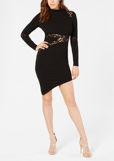 Guess Tahara Lace-Inset Bodycon Dress