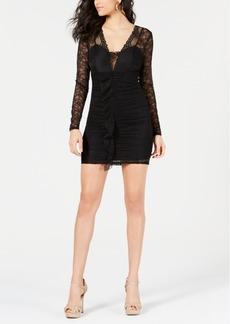 Guess Taila Lace Ruffled Dress