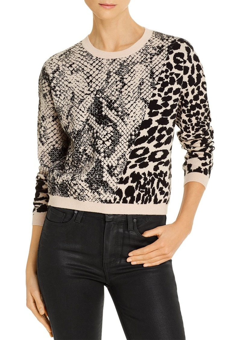GUESS Tamelia Animal-Pattern Sweater