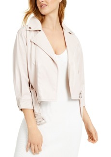 Guess Terry Faux-Leather Jacket
