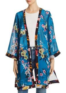 GUESS Tilma Mixed Floral Kimono