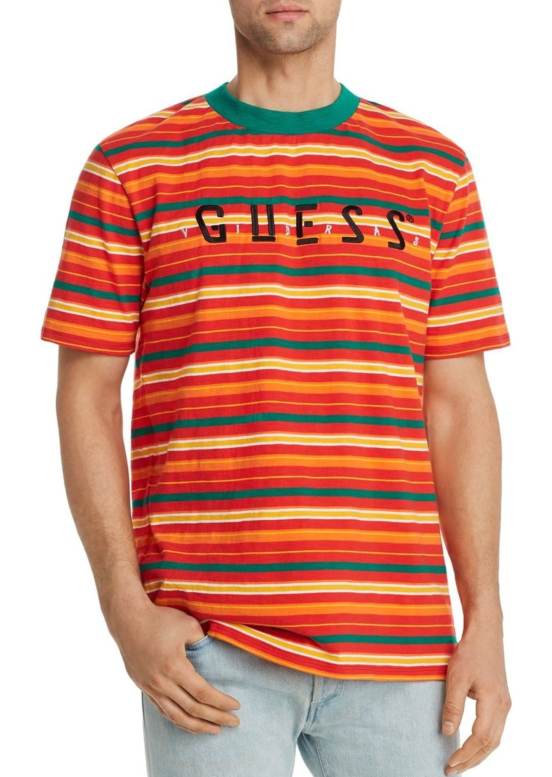 GUESS Tour Striped Tee