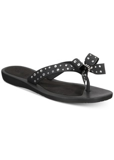 Guess Tutu Bow Flip-Flop Sandals Women's Shoes