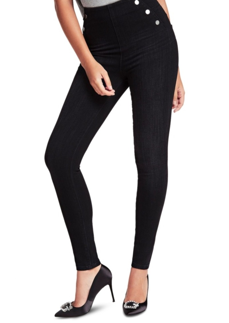 Guess Ultra Curve Button-Detail Skinny Jeans