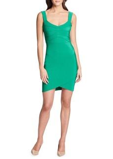 Guess V-Neck Bodycon Dress