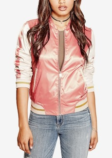Guess Vanessa Embroidered Bomber Jacket