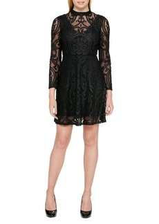 Guess Velvet Little Black Dress