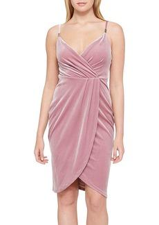 GUESS Velvet Tulip Dress