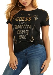 Guess Vintage Banner Logo Graphic T-Shirt