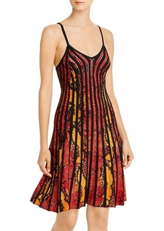 GUESS Viper Strappy Snake Print Dress