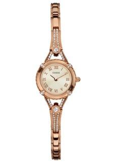 Guess Watch, Women's Rose Gold Tone Bracelet 22mm U0135L3