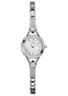 Guess Watch, Women's Silver Tone Bracelet 22mm U0135L1