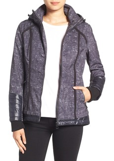 GUESS Water Resistant Hooded Soft Shell Jacket