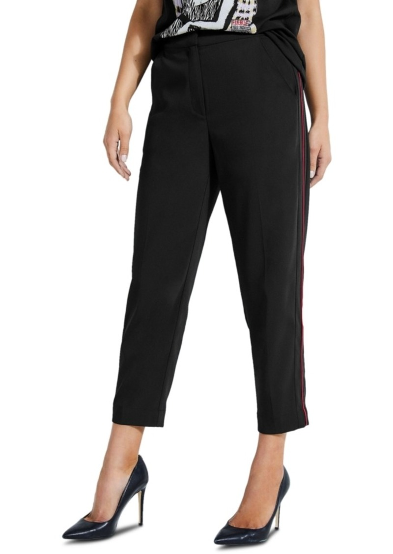 Guess Wessen Cropped Tuxedo Pants